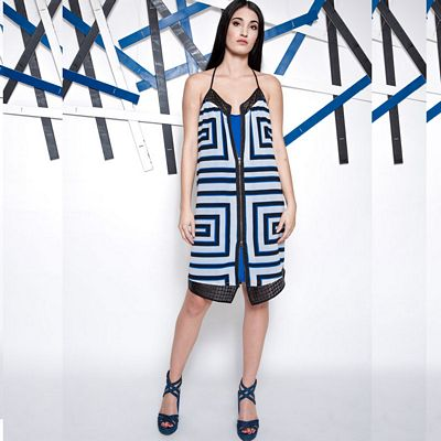 Costa Blau Dress